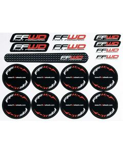 Fast Forward Valve Hole Decal Set + Promotional Stickers