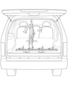 Saris Triple Track Truck/Van 47-Inch Rack