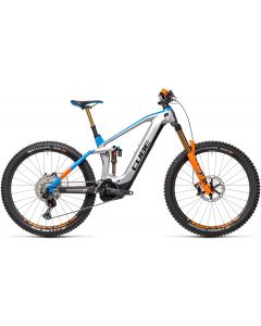 Cube Stereo Hybrid 160 HPC Actionteam 625 27.5 Kiox 2021 Electric Bike