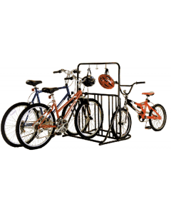 Gear Up Six Bike Holder With Accessory Bar