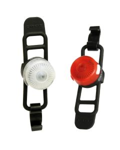 Cateye Loop 2 Front and Rear Light Set