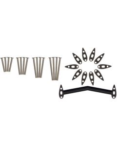 Pro Missile Evo Wide Bridge Riser Kit