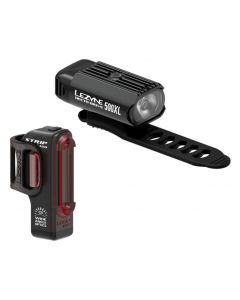 Lezyne Hecto 500XL Strip Drive Front and Rear Light Set
