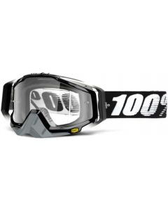 100% Racecraft Clear Lens Goggles