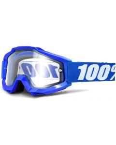 100% Accuri Enduro MOTO Clear Dual Lens Goggles