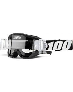 100% Strata Clear Lens Mud Goggles