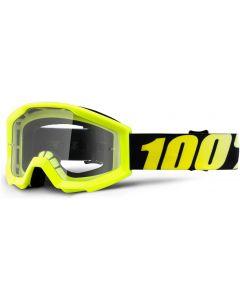 100% Strata Junior Clear Lens Goggles