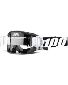 100% Strata Junior Clear Lens Mud Goggles