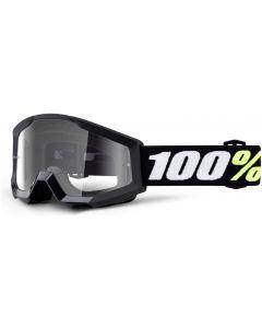 100% Strata Mini Clear Lens Goggles