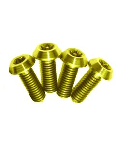 A2Z Ti B4 Lever Clamp Bolts (4 Pieces)