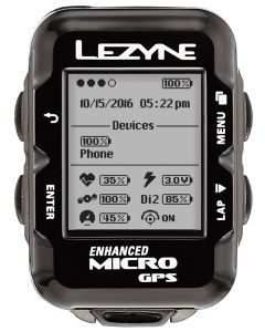 Lezyne Micro GPS Computer Loaded Bundle
