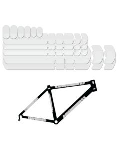 Lizard Skins Bicycle Frame Protection Large Patch Kit