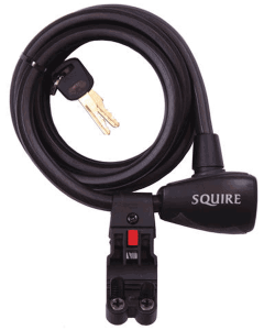 Squire Zenith 12mmx1800mm Cable Key Lock