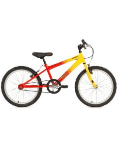 Extreme Volt 20-inch Kids Bike - Red/Yellow