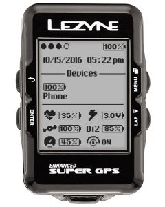 Lezyne Super GPS Computer Loaded Bundle