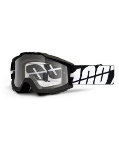 100% Accuri Goggles - Tornado - Clear Lens