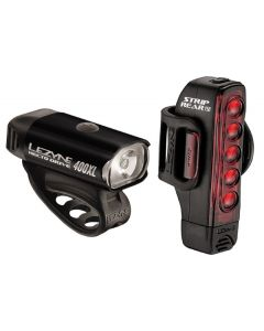 Lezyne Hecto 400 / Strip 150 Front and Rear Light Set