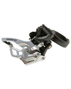 SRAM X5 3x10-Speed Low Clamp Front Derailleur