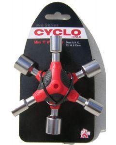 Cyclo Mini Y Wrench Socket Set
