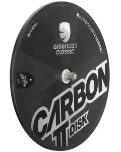 American Classic Carbon TT Disc Tubular 2013 Rear Wheel