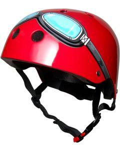 Kiddimoto Red Goggle Helmet
