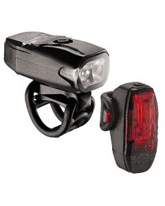 Lezyne KTV2 Drive 180 / 10 Front and Rear Light Set