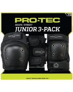 Pro-Tec Street Gear Junior 3 Pack Pad Set