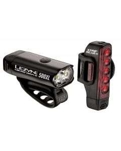 Lezyne Micro Drive 500 / Strip 150 Front and Rear Light Set