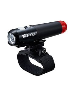 Cateye Volt 400 Duplex Front and Rear Helmet Light