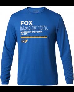 Fox Analog Long Sleeve Tech T-Shirt