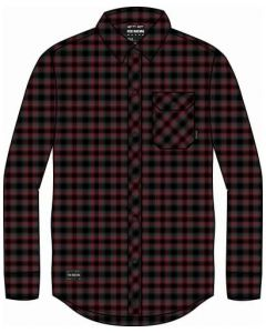 Fox Reeves Button Up Long Sleeve T-Shirt