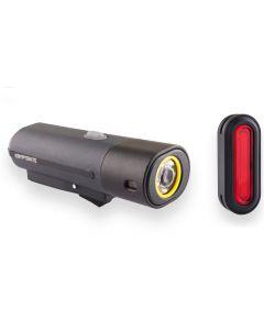 Kryptonite Alley F-650 And Avenue R-50 Premium USB-C Light Set