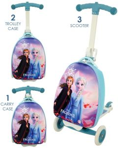 Frozen 2 3-in-1 Scootin Suitcase Kids Scooter