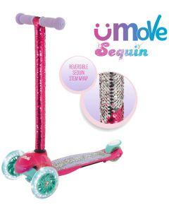 U-Move Mini Sequin LED Kids Scooter
