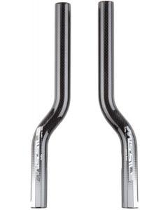 Pro Missile S-Bend Carbon Bar Extensions