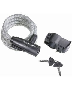 Kryptonite KryptKeeper Value Key Cable Lock With Bracket