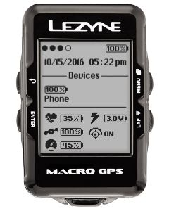 Lezyne Macro GPS Computer Loaded Bundle
