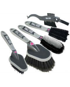 Muc-Off 5x Premium Brush Set