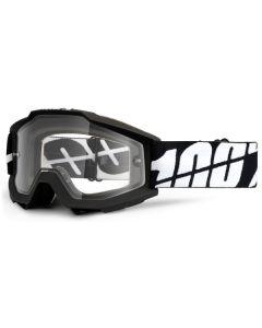 100% Accuri Enduro Dual Lens Clear Goggles