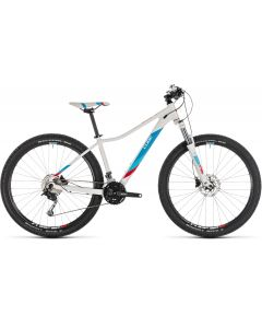 Cube Access WS Pro 2019 Womens Bike - White/Blue