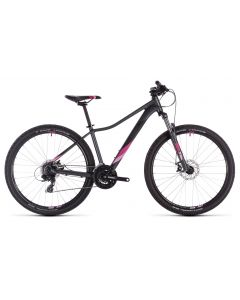 Cube Access WS 2019 Womens Bike - Iridium/Berry