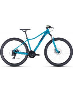 Cube Access WS 2020 Womens Bike - Blue/Green