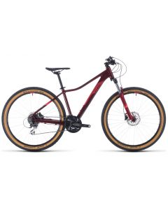 Cube Access WS EXC 2020 Womens Bike - Red/Coral