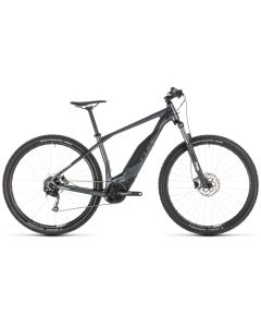 Cube Acid Hybrid One 500 29er 2019 Electric Bike - Grey/White