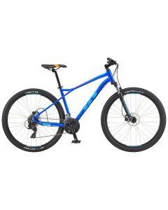 GT Aggressor Expert 2020 Bike - Electric Blue