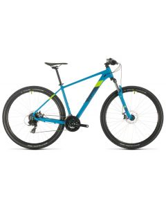 Cube Aim 2020 Bike - Blue/Green