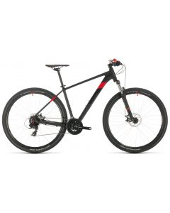 Cube Aim 2020 Bike - Black/Red
