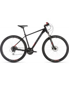Cube Aim Race 2019 Bike - Black/Red