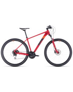 Cube Aim Race 2020 Bike - Red/Orange