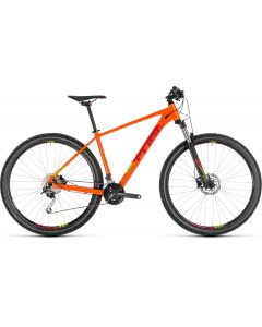 Cube Analog 2019 Bike - Orange/Red